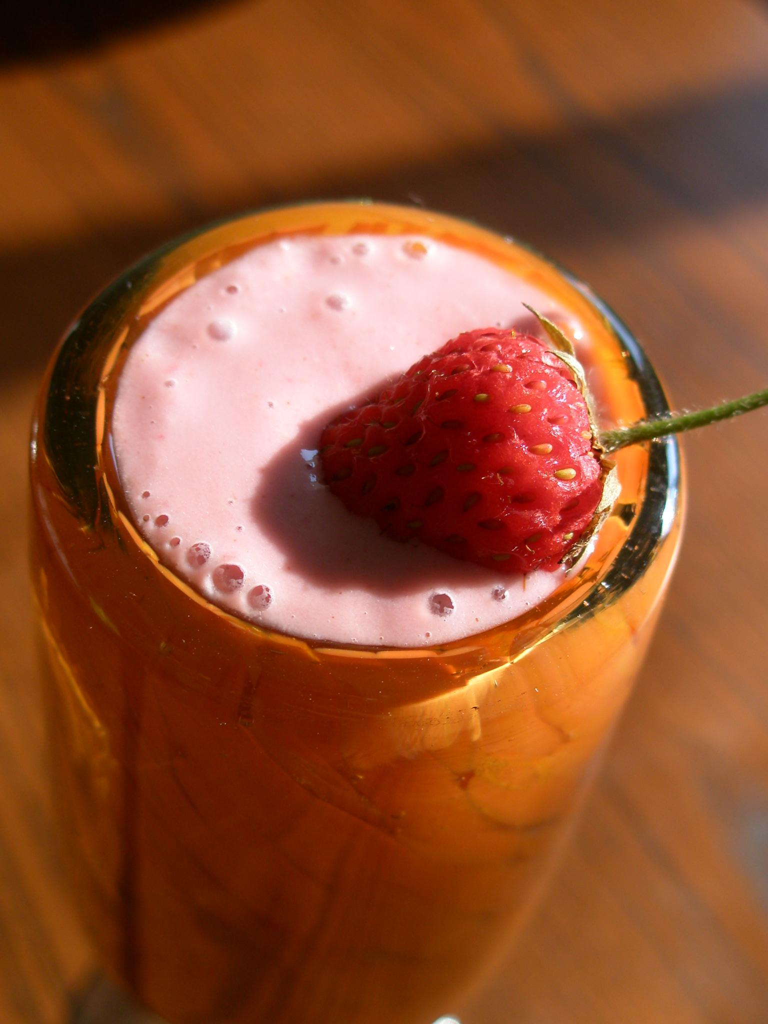 Creamy Coconut Cashew Nut Milk and a Creamy Strawberry ...